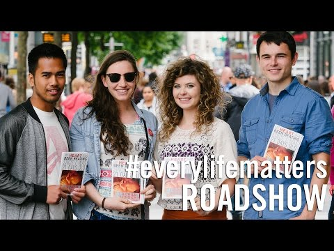 Ireland's pro-life roadshow changes hearts and minds on abortion and the right to life