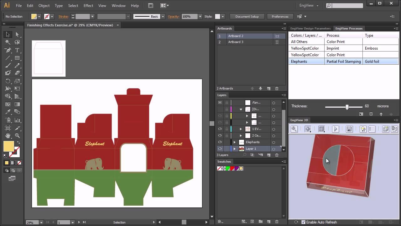 Adobe Illustrator Plug-in for Packaging | EngView