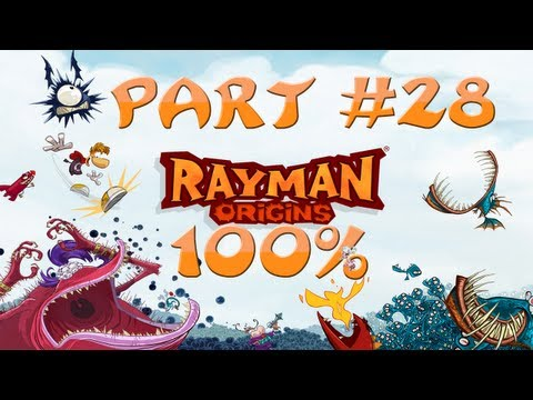 Rayman Origins - 100% Walkthrough Part #28 - Skull Tooth #9, Is MINE!