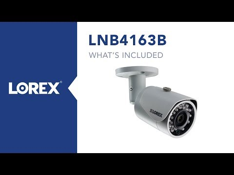 Lorex LNB4321B 4MP HD IP  Bullet Camera with Color Night Vision