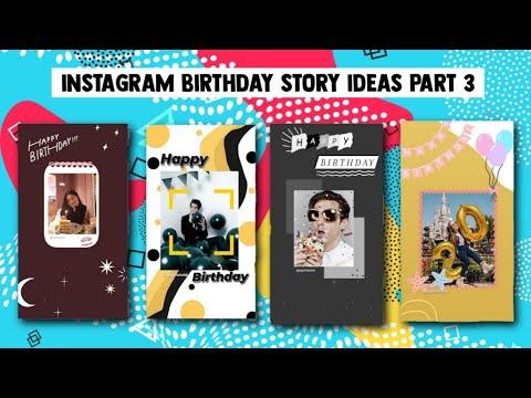 Cara Kreatif Me Repost Postingan Untuk Ucapan Ulangtahun Di Instagram Story Part 3 Youtube