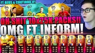 FIFA 16: PACK OPENING (DEUTSCH) - FIFA 16 ULTIMATE TEAM - OMG 10x25K PACKS [COUTINHO IF, REUS & CO!]