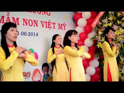 Khai trương trường Mầm Non Việt Mỹ (2014-2015)
