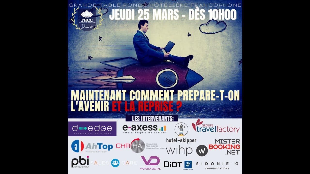 PROGRAMME EVENT 25 MARS: comment se relancer et prévoir le futur