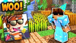 Video INSANE BIRTHDAY PRESENTS! | Minecraft Skybounds #16 (Skyblock Season 3) download MP3, 3GP, MP4, WEBM, AVI, FLV November 2017