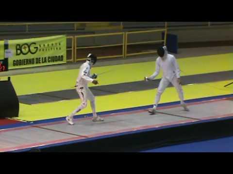 Bogota Grand Prix 2009 - TEAMS  FINAL FRANCE vs ITALY 8/9 Lucenay vs Confalonieri