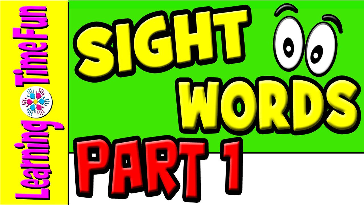 Learn Sight Words | Sight Words for Kids | 26 Sight Words with Sentences |  Sight Words 1