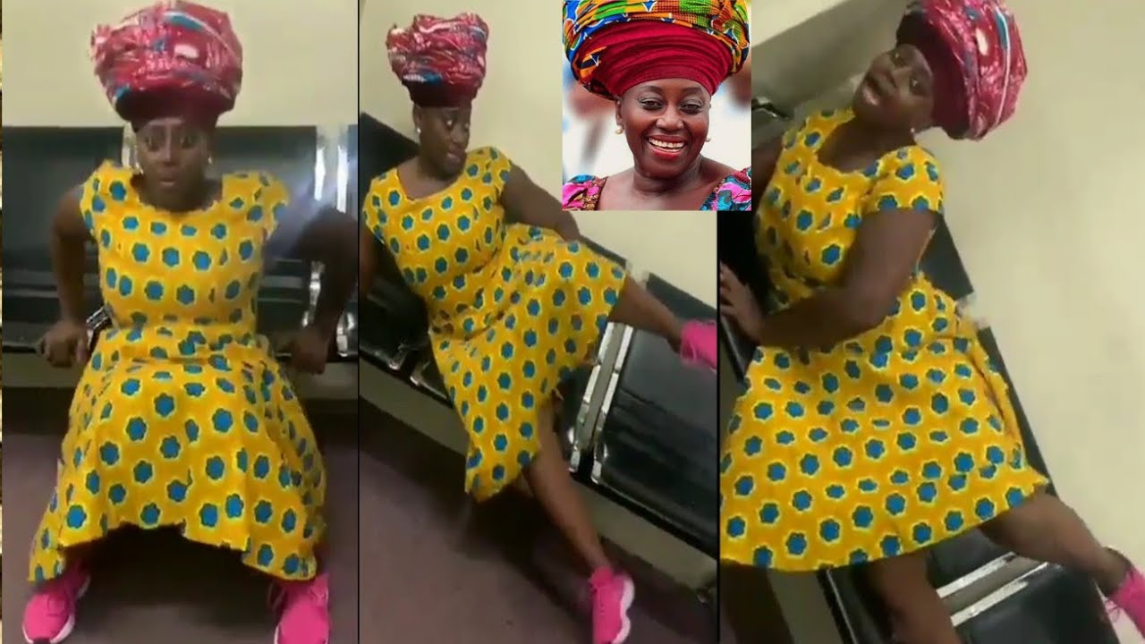 Akumaa Mama Zimbi Teaches Corona SƐX Position