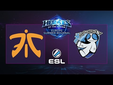 Heroes - Fnatic vs. myInsanity - Semifinal - Heroes of the Storm EU Summer Regional
