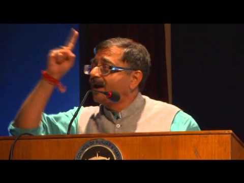 Tarun Vijay, MP addressing Seminar on 'Nationalist Movement in India - Challenges & Solutions'