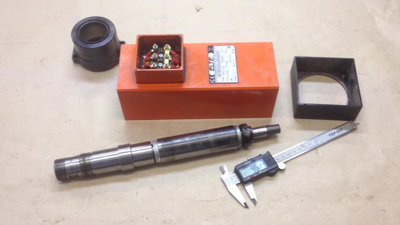 Ремонт шпинделя, диагностика моторов, замена и смазка подшипников .