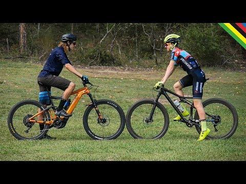 World Champion vs Electric Bike!