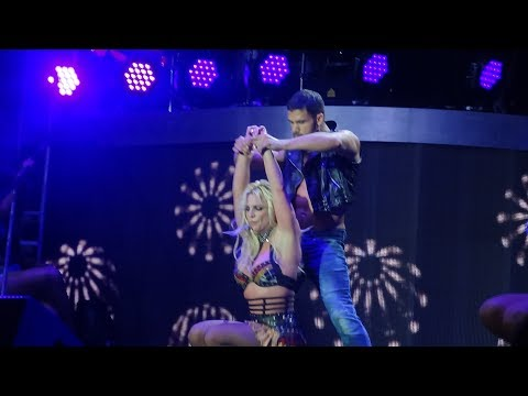 Britney Spears  Clumsy  Change Your Mind  at the Piece Of Me Tour, Mönchengladbach HD
