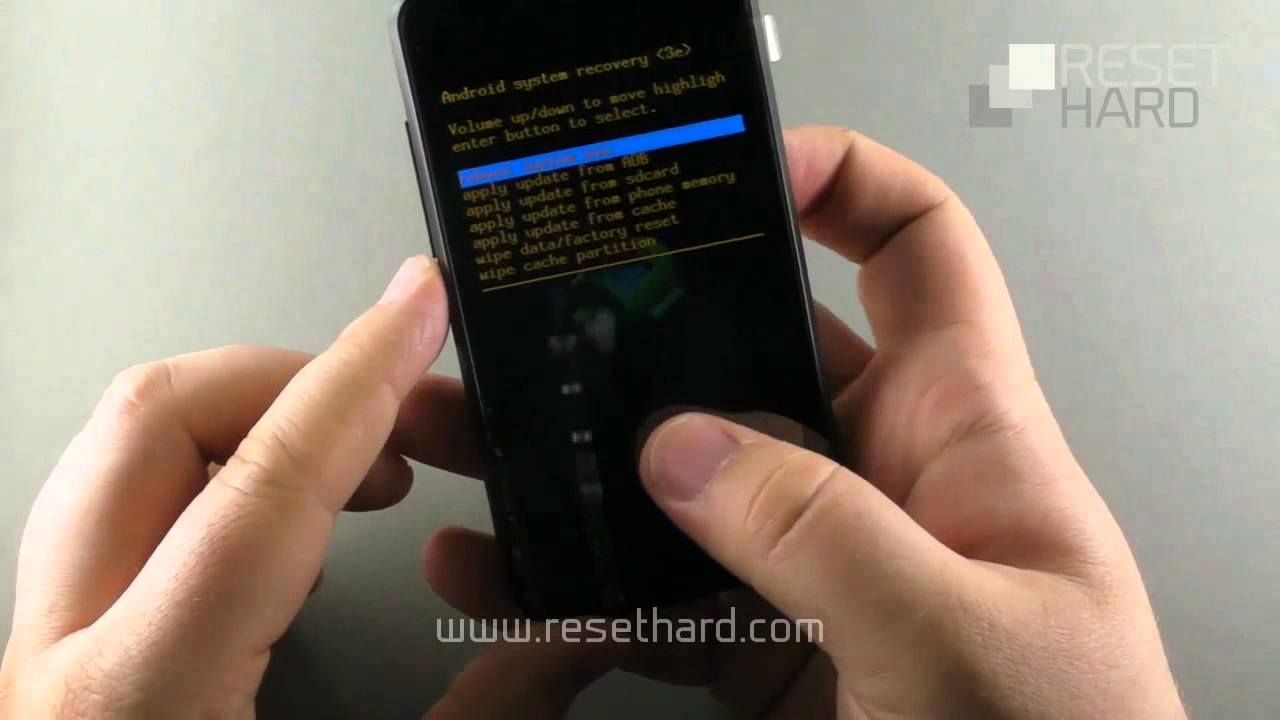 How To Hard Reset Vodafone Smart Mini