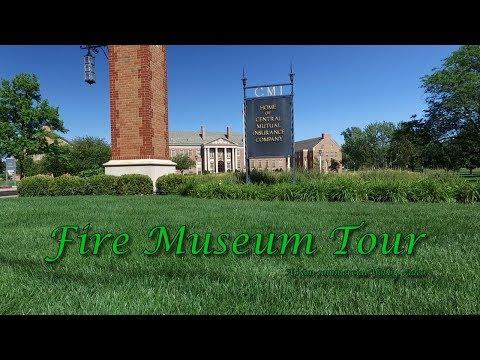 Van Wert Ohio Fire Museum Tour at Central Insurance Companies