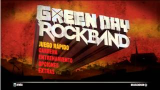 Green Day Rock Band Wii (Gameplay Intro HD)