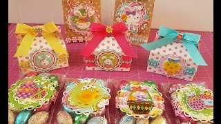 Use Your Stash Episode 6: Super Easy Easter Treat Holders