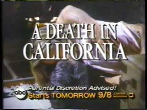 A Death In California 1985 ABC Mini Series