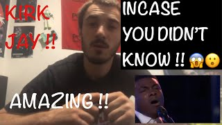 "Kirk Jay Astounds Again With ""In Case You Didn't Know "" - The Voice 2018 Knockouts Reaction Video"