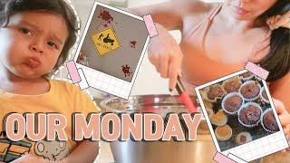 혼혈아기+한국엄마 현실 월요일::학교 간식 준비/할로윈…