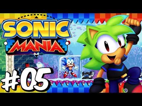Sonic Mania (BLIND) | Part 5 - Press Garden Zone | PlayStation 4
