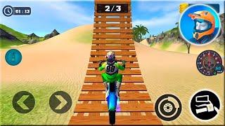 Motocross Beach Bike Stunt Racing Game - Motor Racer Game - Android Gameplay