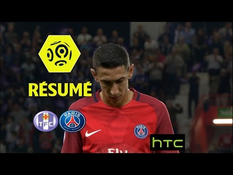Toulouse FC - Paris Saint-Germain (2-0)  - Résumé - (TFC - PARIS) / 2016-17