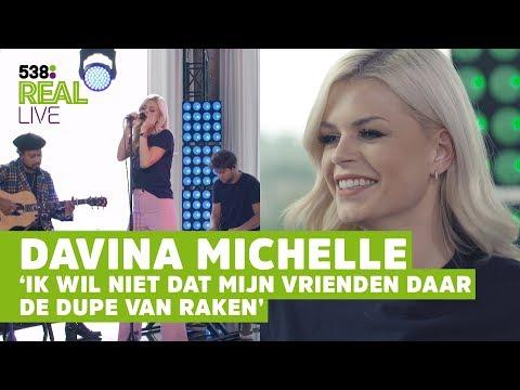 Davina Michelle EERLIJK over VRIEND en FAMILIE | 538 Real LIVE