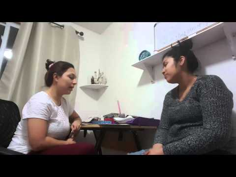 Social Worker and Client Role Play-New Immigrant video #1 20160313 204900