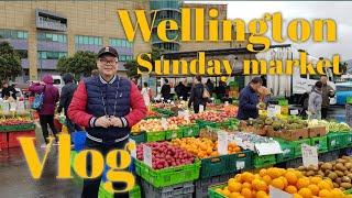 Gambar cover Wellington Sunday Market: Vlog Liburan