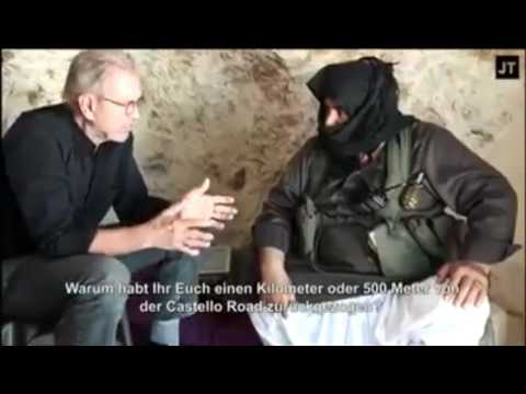 USA & allies support Al Qaida in Syria - Al Nusra commander - German journalist Todenhoefer