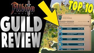 Albion Online | Top 10 Guild Review | What To Look For?