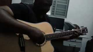 I´m all out of love guitar acousti in Washburn