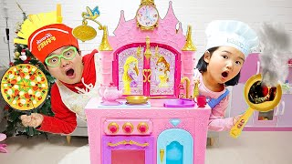 PIZZA Toys Playset 💖Mainan Masak Masakan Membuat PIZZA💖 Let's Play Boram 💖