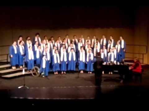 Talmadge Middle School Christmas Choir Concert 2011