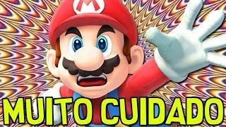 NO ACREDITE NAS MENTIRAS DELE  Super Mario Maker SUPER ACHEI FCIL