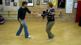 lindy hop swing out basics, class review