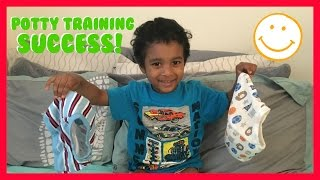 POTTY TRAINING OUR TODDLER!
