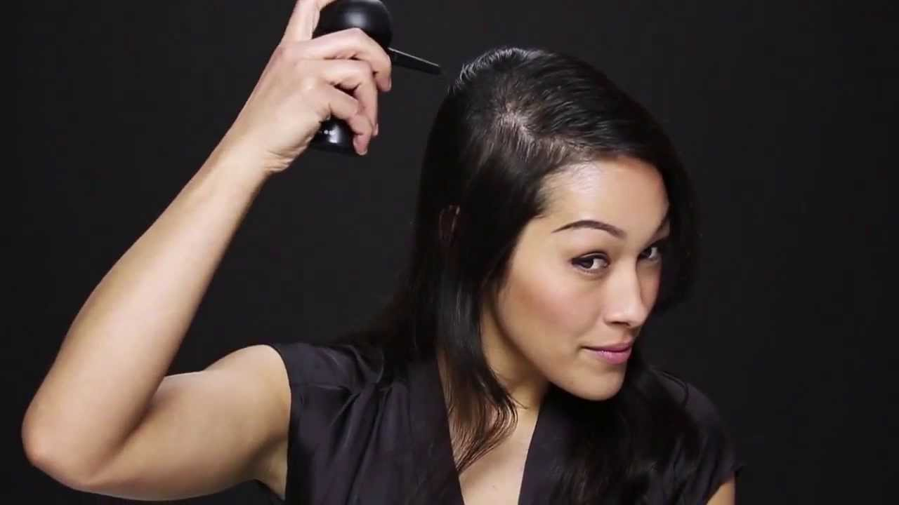 make thin hair look thick in seconds - youtube