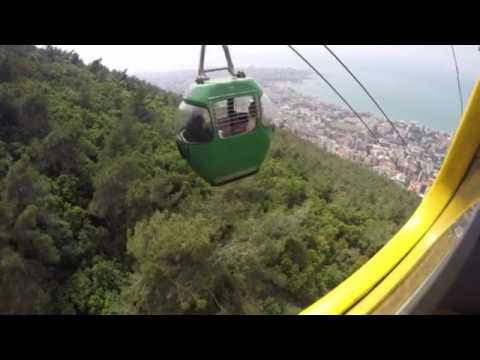 Beirut Cable Car - On the way down