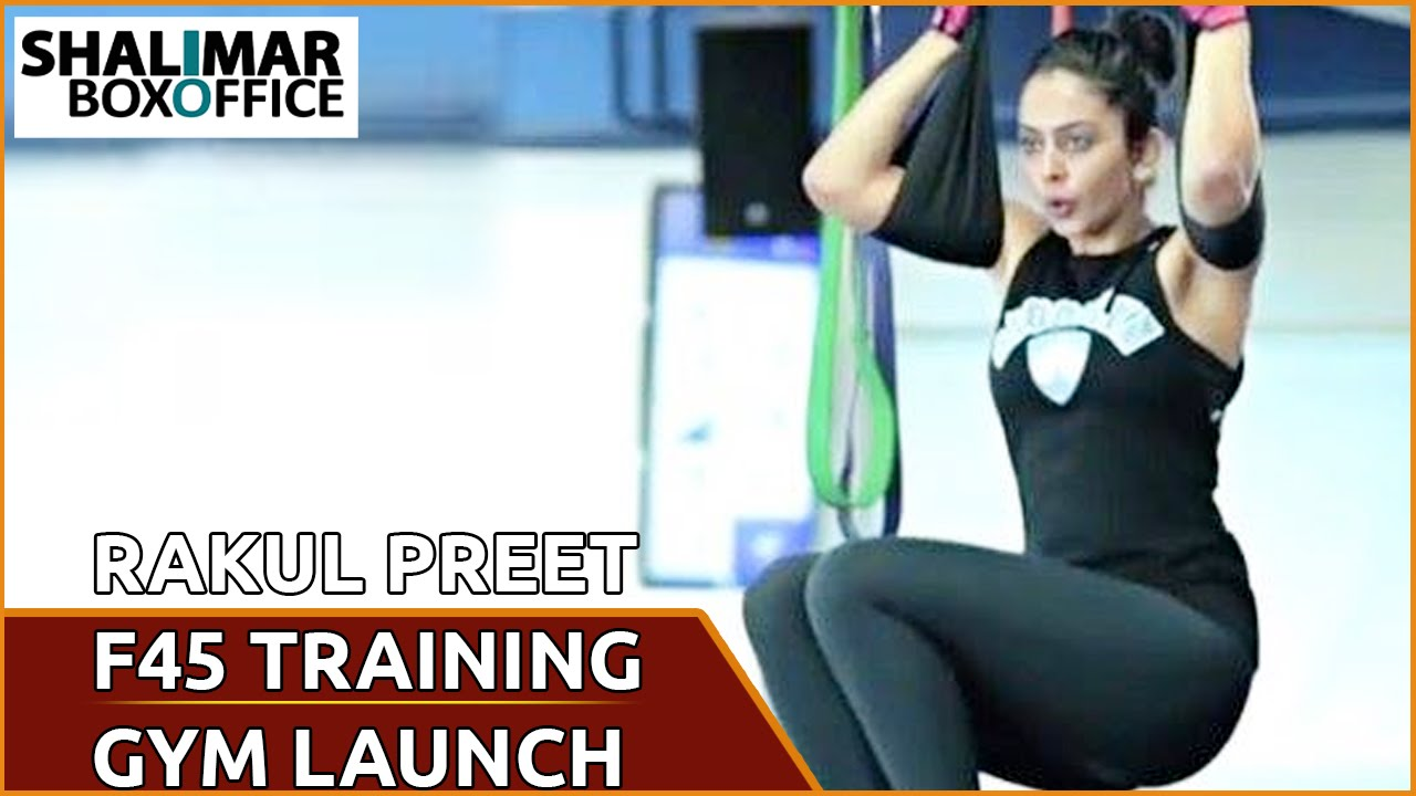 Shriya Saran Gym: Rakul Preet Singh's F45 Training Fitness Gym Launch