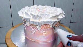 ТОРТ для МАМЫ УКРАШЕНИЕ ТОРТА КРЕМОМ БЗК от SWEET BEAUTY СЛАДКАЯ КРАСОТА Cake Decoration