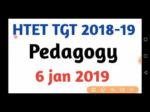 HTET TGT Pedagogy Answer key (6 Jan 2019)|HTET TGT Answer key 2019