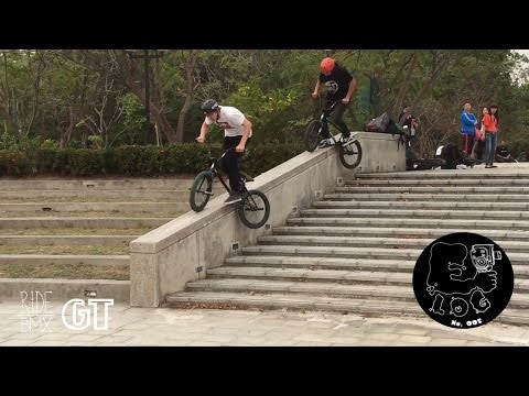 BMX IN TAIWAN W/ GT'S BRIAN KACHINSKY, ROB WISE, ALBERT MERCADO, DAN CONWAY, & MORE || E-LOG 005