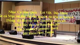 T. Vinh Chúa bài Cho Đến Khi Chúa Yêu Trở Lại by MS. Âm Nhạc Nguyên & Hồng tại VCC | 16/9/2017