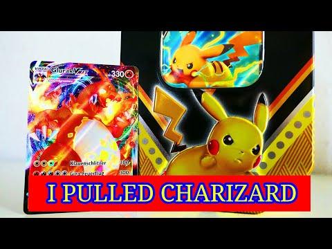 *I PULLED CHARIZARD* Pokemon Pikachu V Box |