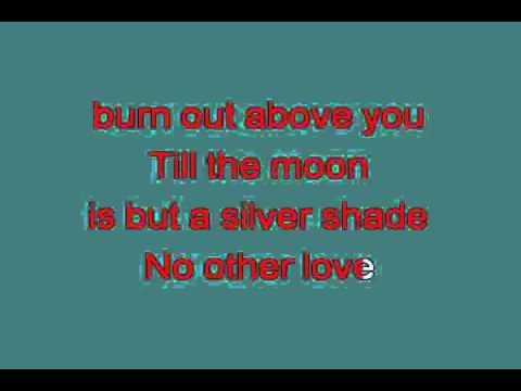 NO OTHER LOVE 715240 [karaoke]