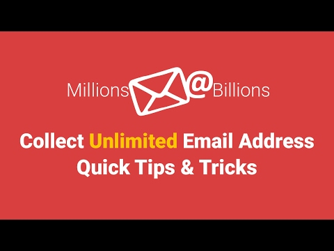 How to Collect Unlimited Email Address | Quick Tips & Tricks