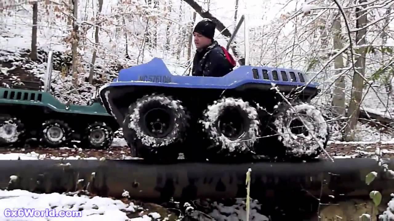 Max Ii 6x6 Amphibious Atv Mp4