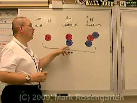 Chemistry Tutorial 3.01a:  Atomic Structure - The Nucleus